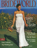 photo: cover of Brideworld magazine