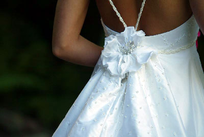 wedding gown care instructions