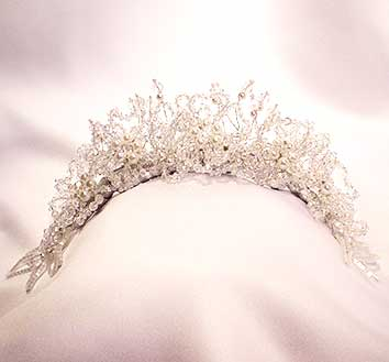 custom bridal tiaras - weddings