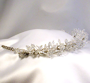 elegant wedding tiara