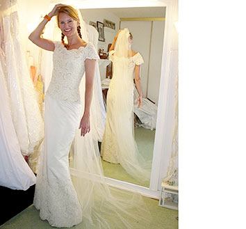 Inherited Wedding Dresses Alterations And Restore